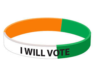 wristband for political parties,bracelet for political parties,wristband for political campaign,bracelet for election campaign