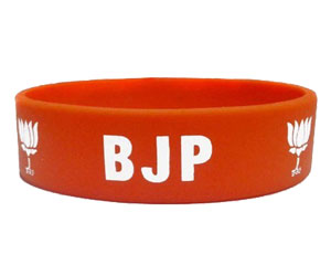 printed wristband for election,printed bracelet for election