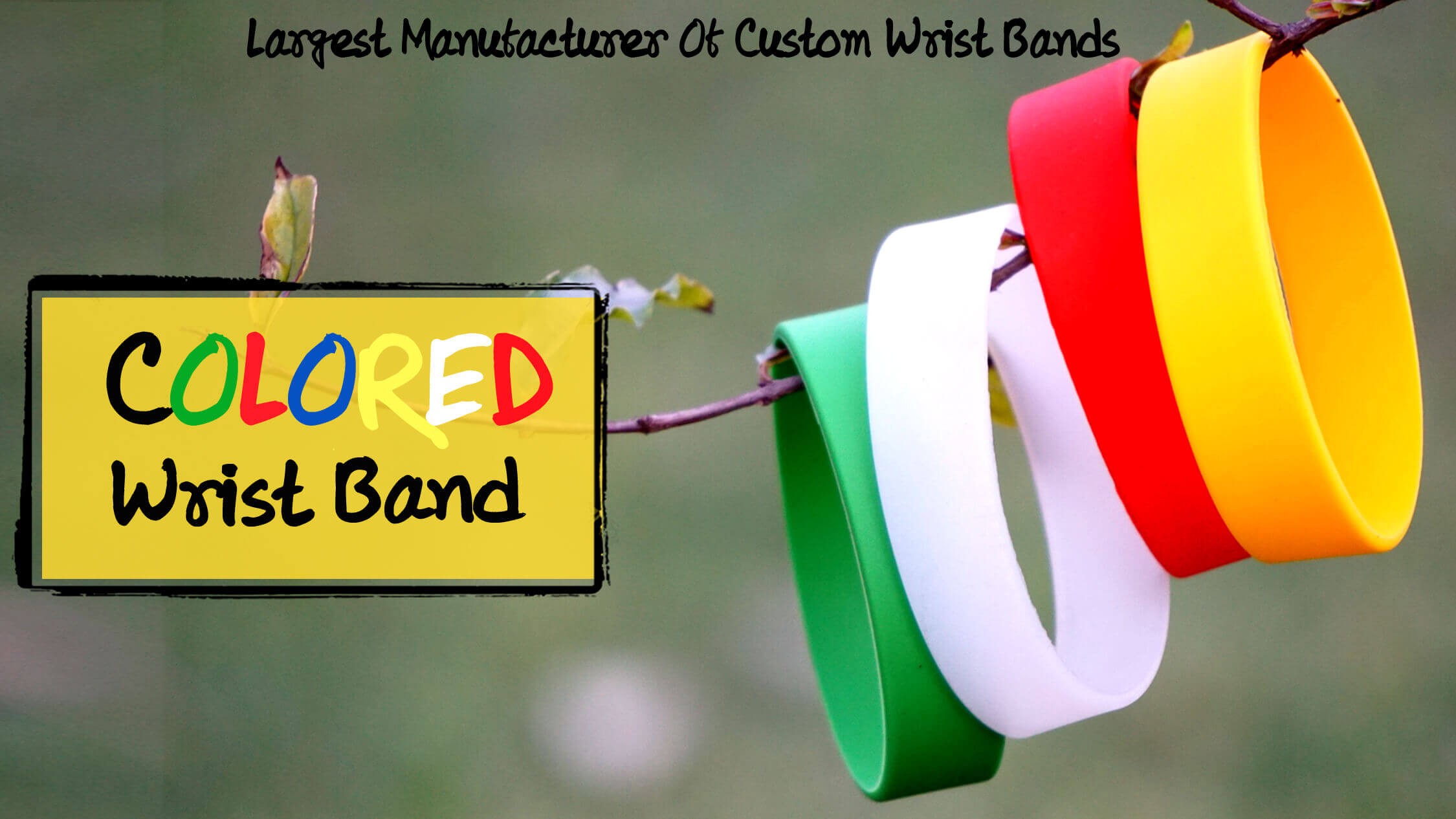 printed wristband manufacturer, printed wristbands in different sized & colors