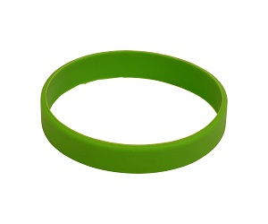how to make a rubber wristband